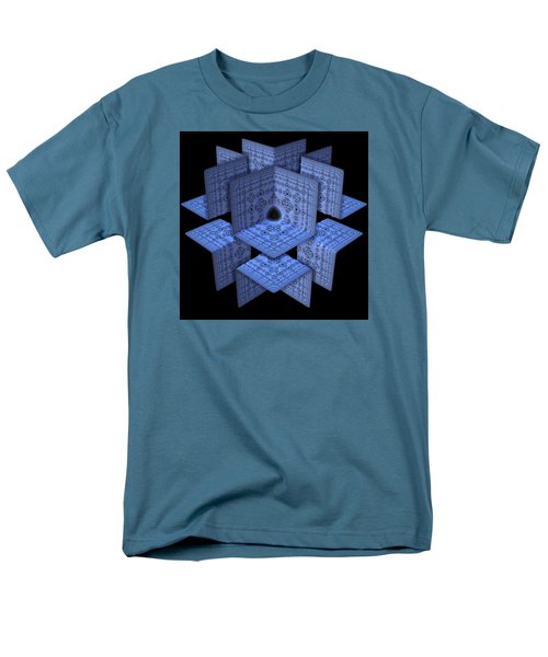 Men's T-Shirt  (Regular Fit) featuring the digital art Isolation by Lyle Hatch