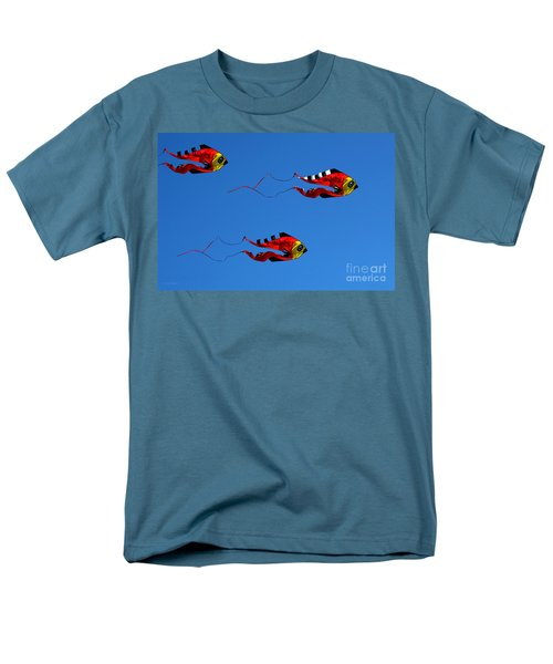 It's A Kite Kind Of Day Men's T-Shirt  (Regular Fit) by Clayton Bruster