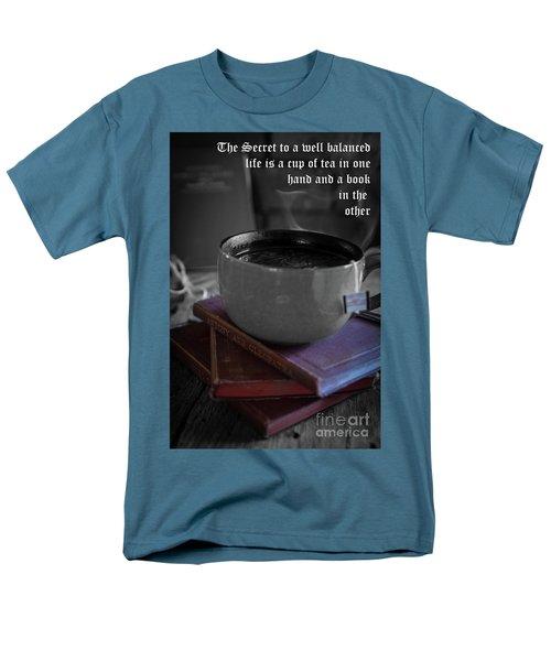 Men's T-Shirt  (Regular Fit) featuring the photograph It's Tea Time by Deborah Klubertanz
