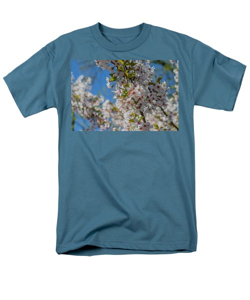 Japanese Cherry  Blossom Men's T-Shirt  (Regular Fit) by Daniel Precht