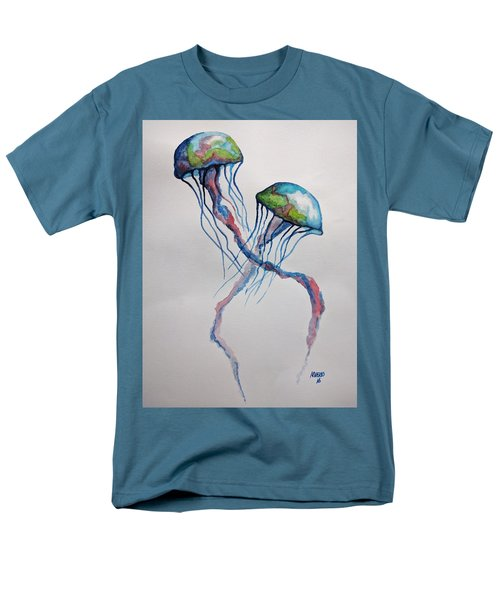 Jellyfish Men's T-Shirt  (Regular Fit) by Edwin Alverio