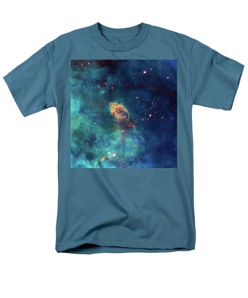 Men's T-Shirt  (Regular Fit) featuring the photograph Jet In Carina by Marco Oliveira
