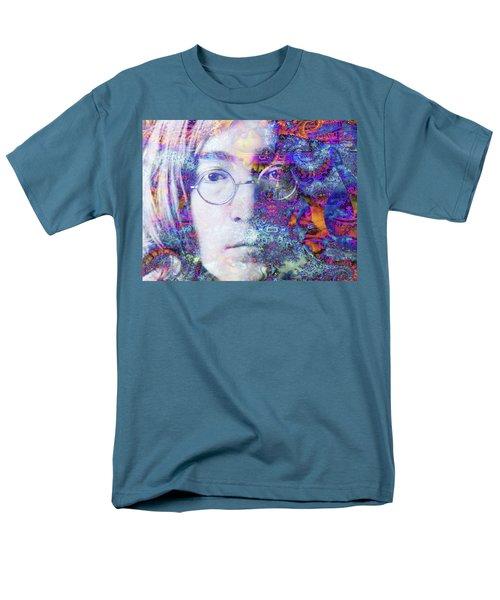Men's T-Shirt  (Regular Fit) featuring the digital art John by Robert Orinski
