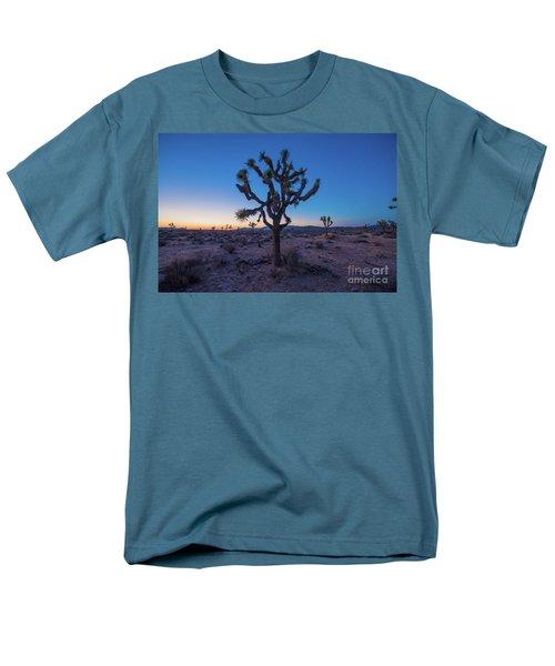 Joshua Tree Glow Men's T-Shirt  (Regular Fit) by Robert Loe