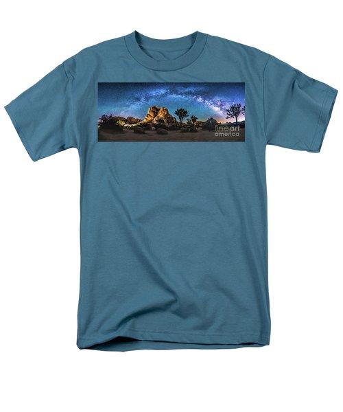 Joshua Tree Milkyway Men's T-Shirt  (Regular Fit) by Robert Loe