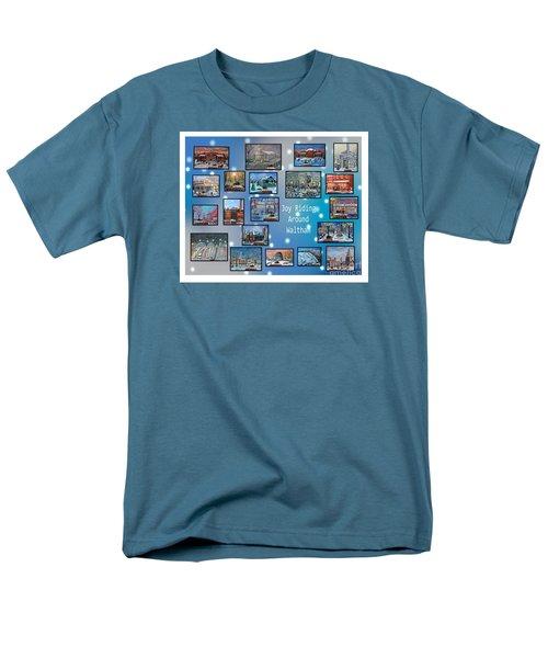 Joy Riding Around Waltham Men's T-Shirt  (Regular Fit) by Rita Brown