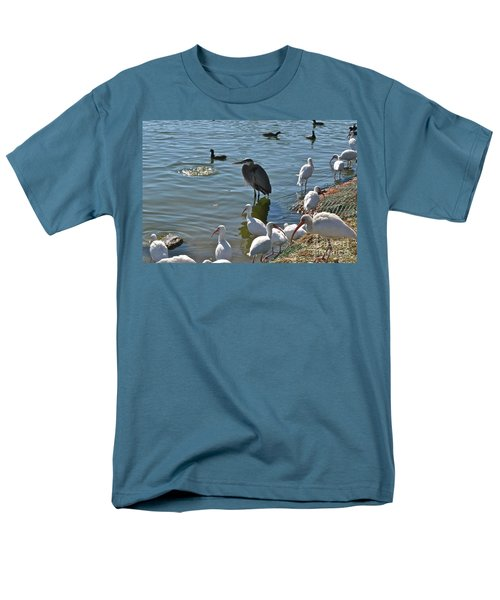 Just Me And A Few Friends Men's T-Shirt  (Regular Fit) by Carol  Bradley