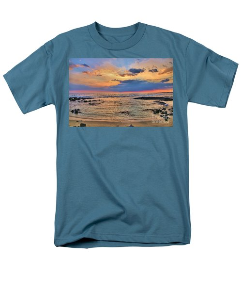 Men's T-Shirt  (Regular Fit) featuring the photograph Keahuolu Point by DJ Florek
