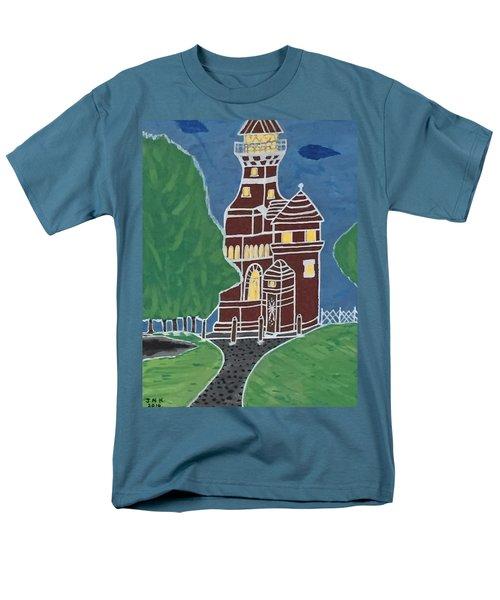 Kiel Germany Lighthouse. Men's T-Shirt  (Regular Fit) by Jonathon Hansen