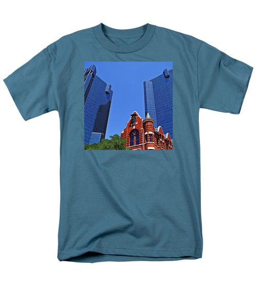 Men's T-Shirt  (Regular Fit) featuring the photograph Knights Of Pythias Castle Hall by Kathy Churchman