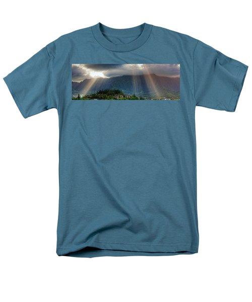 Koolau Sun Rays Men's T-Shirt  (Regular Fit) by Dan McManus
