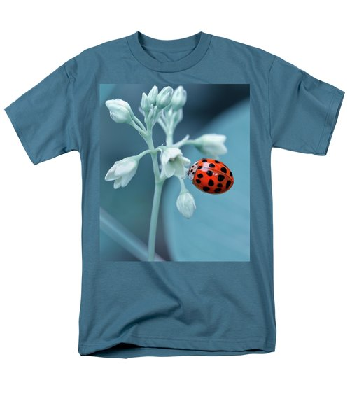 Men's T-Shirt  (Regular Fit) featuring the photograph Ladybug by Mark Fuller