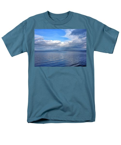 Lake Champlain From New York Men's T-Shirt  (Regular Fit) by Brendan Reals