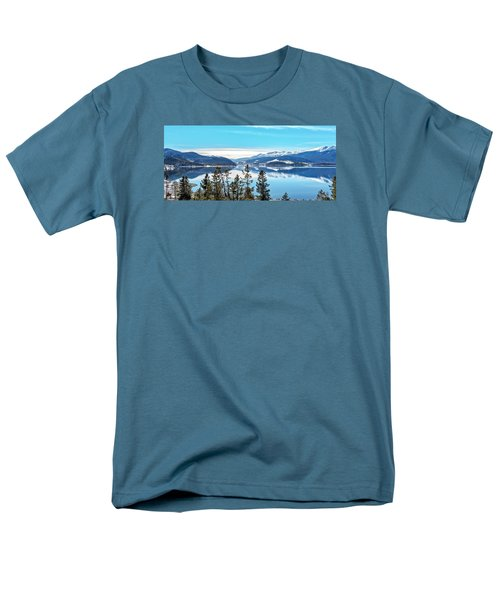 Lake Dillon Colorado Men's T-Shirt  (Regular Fit) by Stephen  Johnson