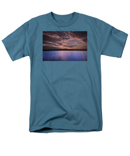 Lake Sunset Xv Men's T-Shirt  (Regular Fit)