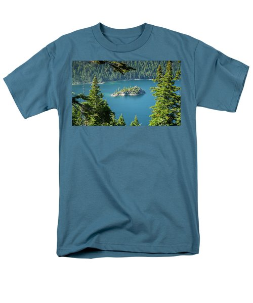 Men's T-Shirt  (Regular Fit) featuring the photograph Lake Tahoe by RC Pics