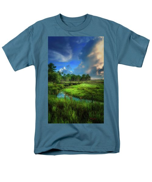 Men's T-Shirt  (Regular Fit) featuring the photograph Land Of Milk And Honey by Marvin Spates