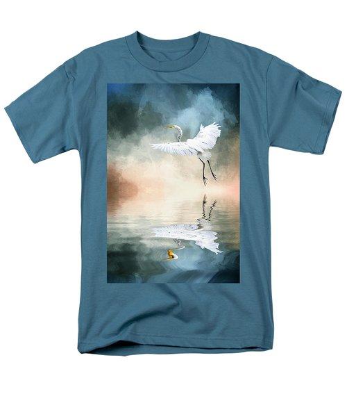 Landing At Dawn Men's T-Shirt  (Regular Fit) by Cyndy Doty