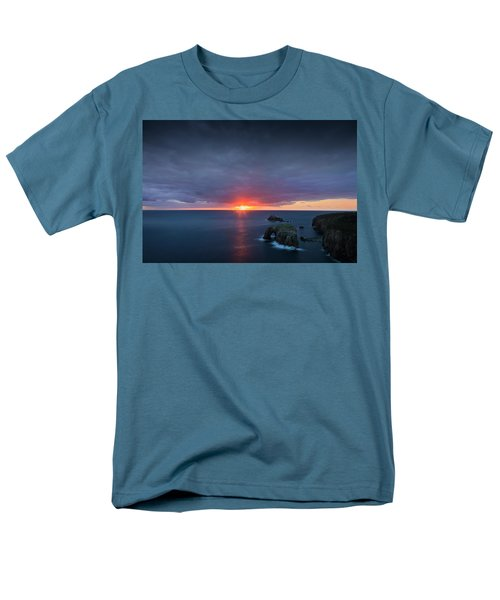 Land's End Men's T-Shirt  (Regular Fit) by Dominique Dubied