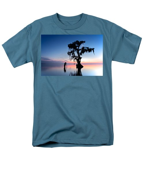 Men's T-Shirt  (Regular Fit) featuring the photograph Landscape Backstage by Evgeny Vasenev