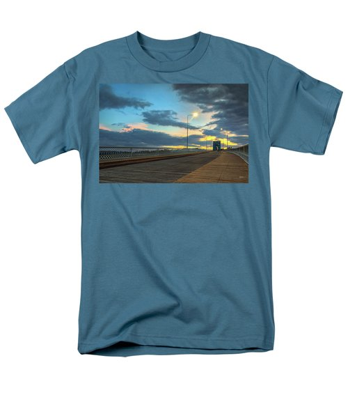 Last Light And Color Over Walnut Men's T-Shirt  (Regular Fit) by Steven Llorca