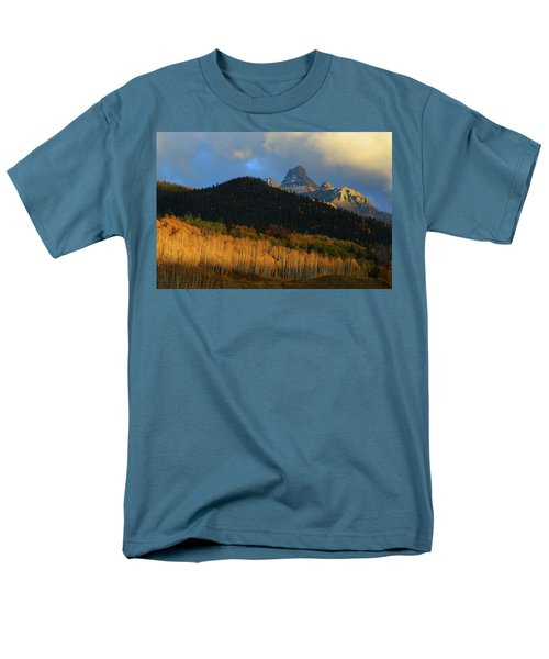 Men's T-Shirt  (Regular Fit) featuring the photograph Late Afternoon Light On The San Juans by Jetson Nguyen