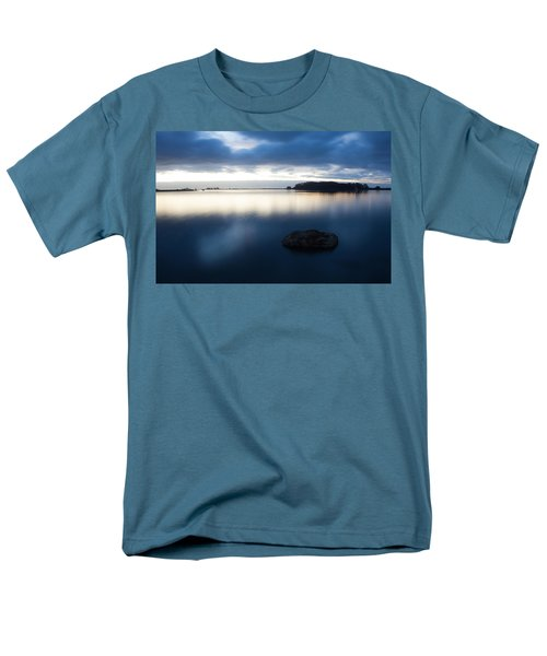 Late Evening On The Hikshari Men's T-Shirt  (Regular Fit) by Mark Alder