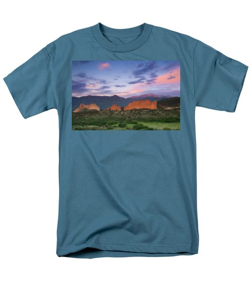Men's T-Shirt  (Regular Fit) featuring the photograph Late Spring Sunrise by Tim Reaves