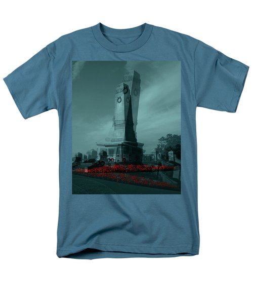Men's T-Shirt  (Regular Fit) featuring the photograph Lest We Forget. by Keith Elliott