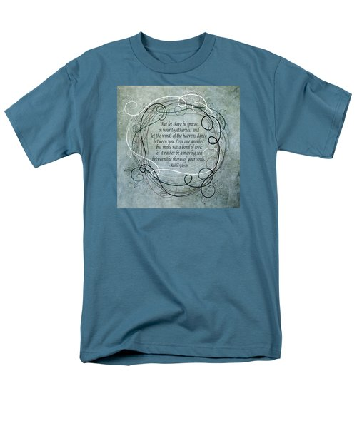 Let There Be Spaces Men's T-Shirt  (Regular Fit)