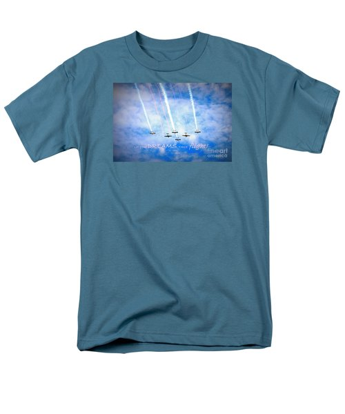 Men's T-Shirt  (Regular Fit) featuring the photograph Let Your Dreams Take Flight by Shelia Kempf
