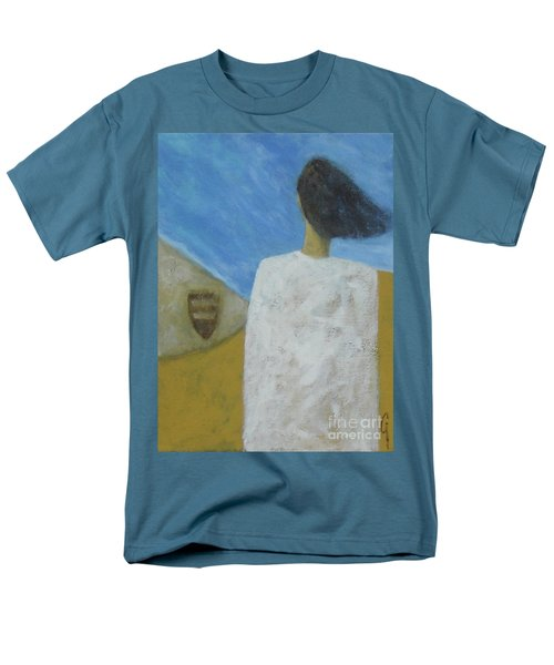 Men's T-Shirt  (Regular Fit) featuring the painting Lifeboat by Glenn Quist