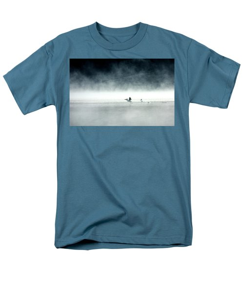 Men's T-Shirt  (Regular Fit) featuring the photograph Lift-off by Brian N Duram