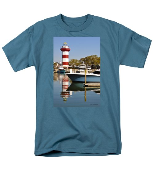 Light In The Harbor Men's T-Shirt  (Regular Fit) by Kay Lovingood