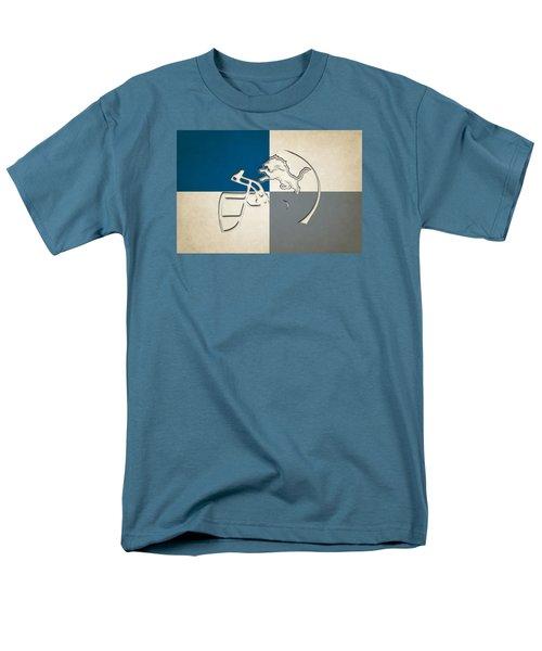 Lions Helmet Art Men's T-Shirt  (Regular Fit) by Joe Hamilton