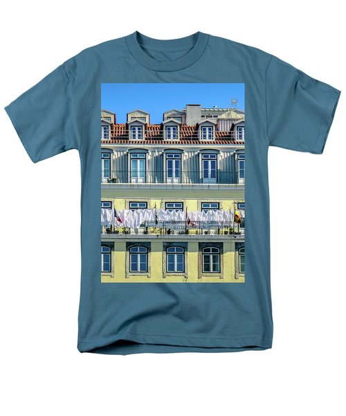 Lisbon Laundry Men's T-Shirt  (Regular Fit) by Marion McCristall