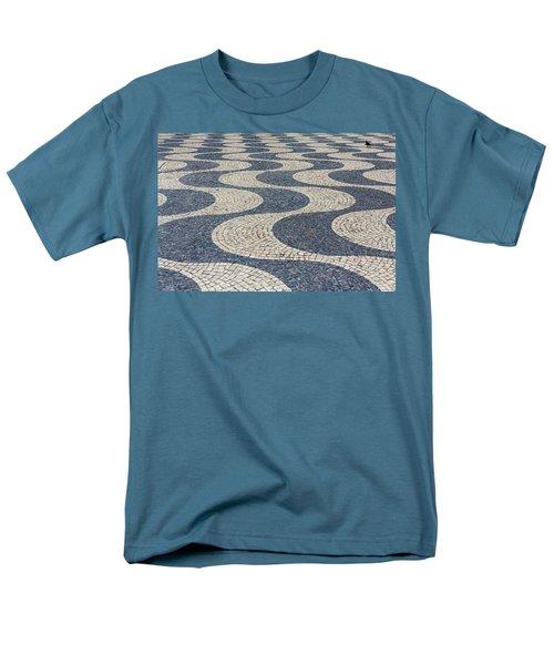 Lisbon Street Men's T-Shirt  (Regular Fit) by Patricia Schaefer