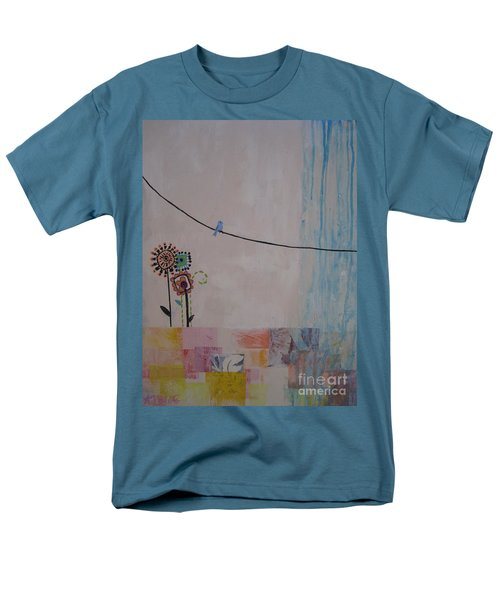 Little Birdie Men's T-Shirt  (Regular Fit) by Ashley Price