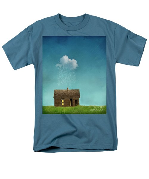 Men's T-Shirt  (Regular Fit) featuring the photograph Little House Of Sorrow by Juli Scalzi