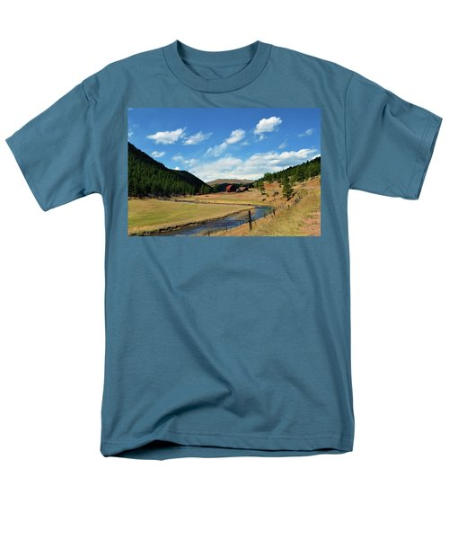 Living In The Valley T-Shirt by Angelina Vick