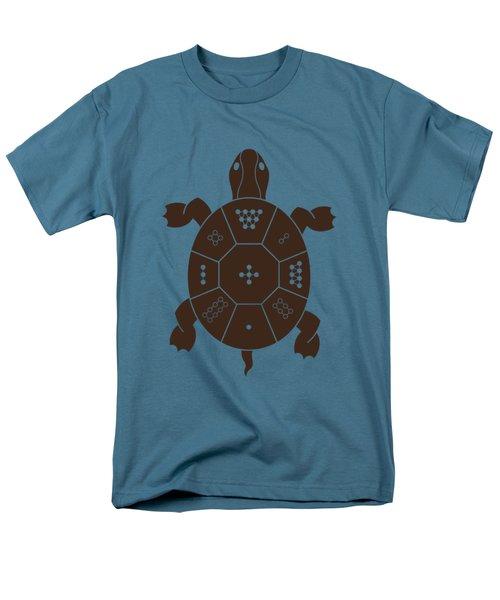 Lo Shu Turtle Men's T-Shirt  (Regular Fit)