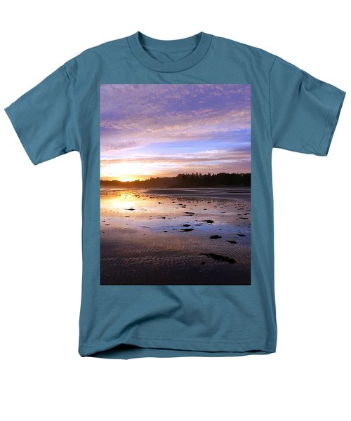 Long Beach, British Columbia Men's T-Shirt  (Regular Fit) by Heather Vopni