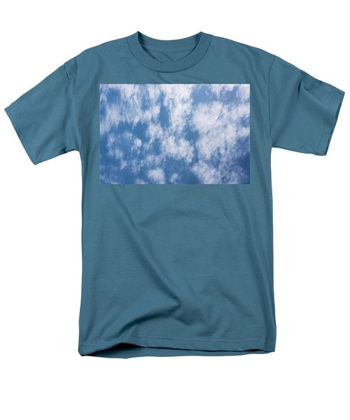 Look Up Not Down Clouds Men's T-Shirt  (Regular Fit) by Terry DeLuco
