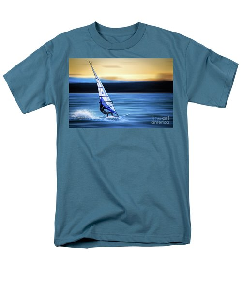Men's T-Shirt  (Regular Fit) featuring the photograph Looking Forward by Hannes Cmarits