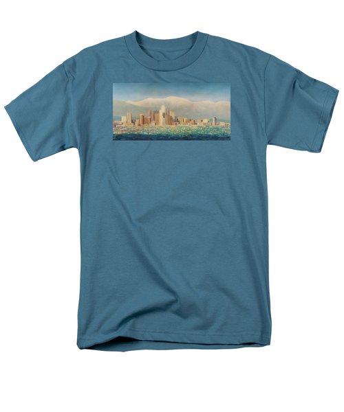 Los Angeles Sunset Men's T-Shirt  (Regular Fit) by Douglas Castleman
