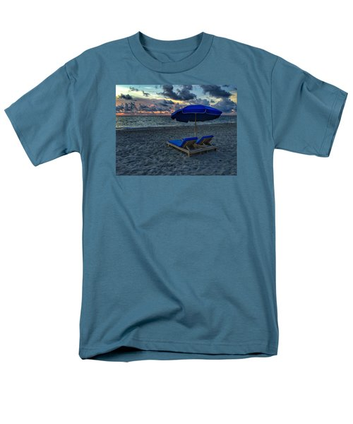 Lounging By The Sea Men's T-Shirt  (Regular Fit)
