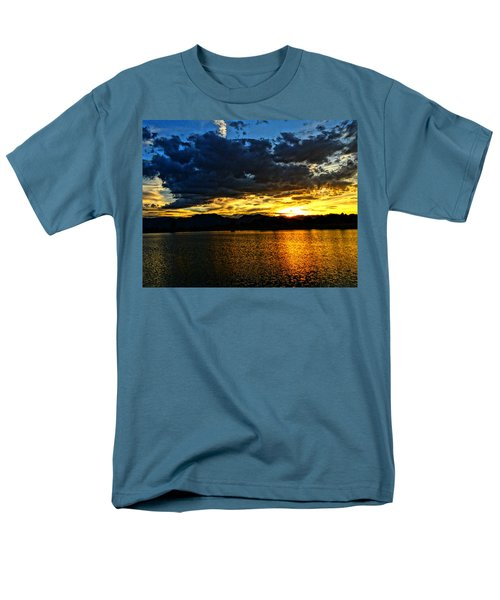 Love Lake Men's T-Shirt  (Regular Fit) by Eric Dee