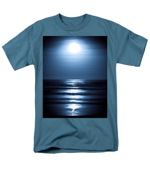 Lunar Dreams Men's T-Shirt  (Regular Fit) by DigiArt Diaries by Vicky B Fuller