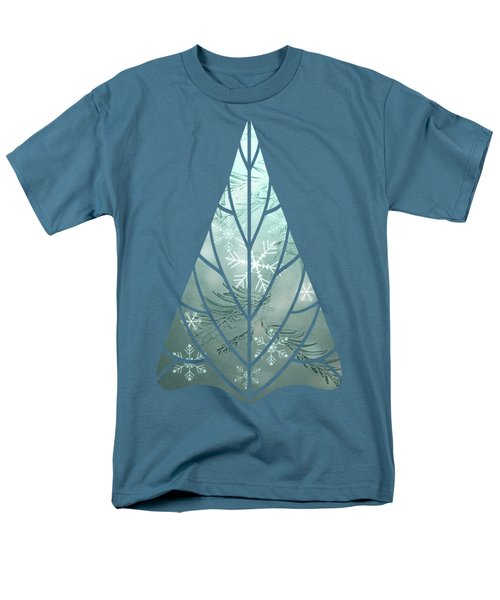 Magical Snow Men's T-Shirt  (Regular Fit) by AugenWerk Susann Serfezi