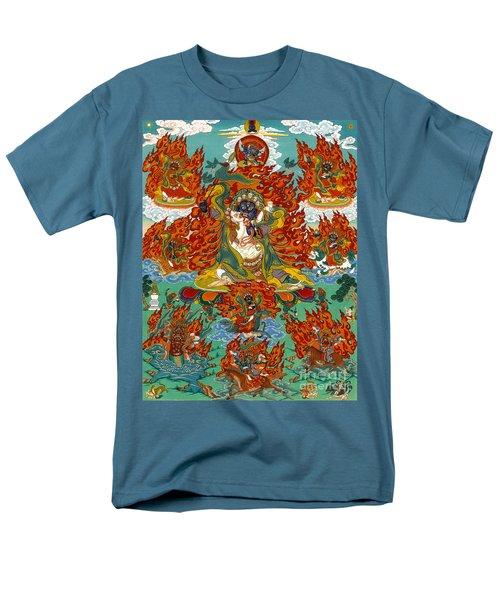 Maning Mahakala With Retinue Men's T-Shirt  (Regular Fit) by Sergey Noskov